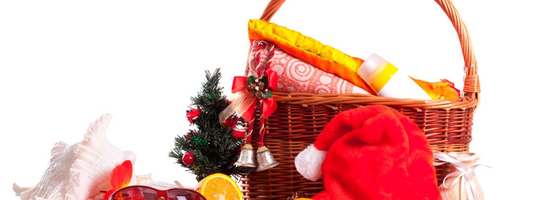 Cestas y lotes saludables para Navidad