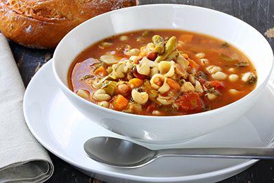 sopa minestrone - cocina italina