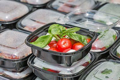 ensalada de tomate preparada