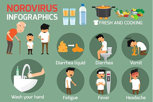 Enfermedades infecciosas - ¿qué es el norovirus?