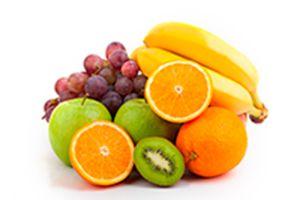 variedad de frutas