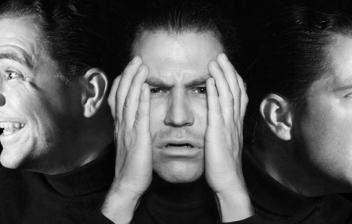 3 caras de un hombre