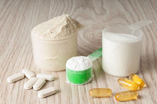 variedad de proteínas y aminoácidos