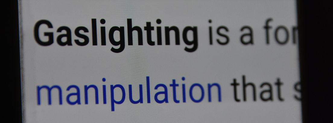 Mensaje de Gaslighting