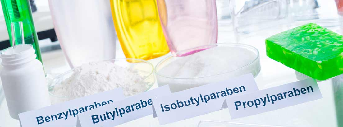 diferentes aditivos nocivos en cosméicos