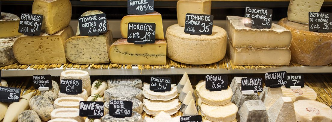 tipos de quesos con sus precios
