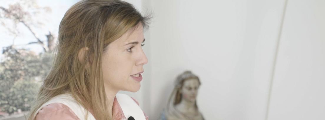 perfil de la doctora Rojas durante la entrevista de MAPFRE.
