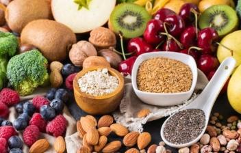 diferentes alimentos para una dieta vegetariana