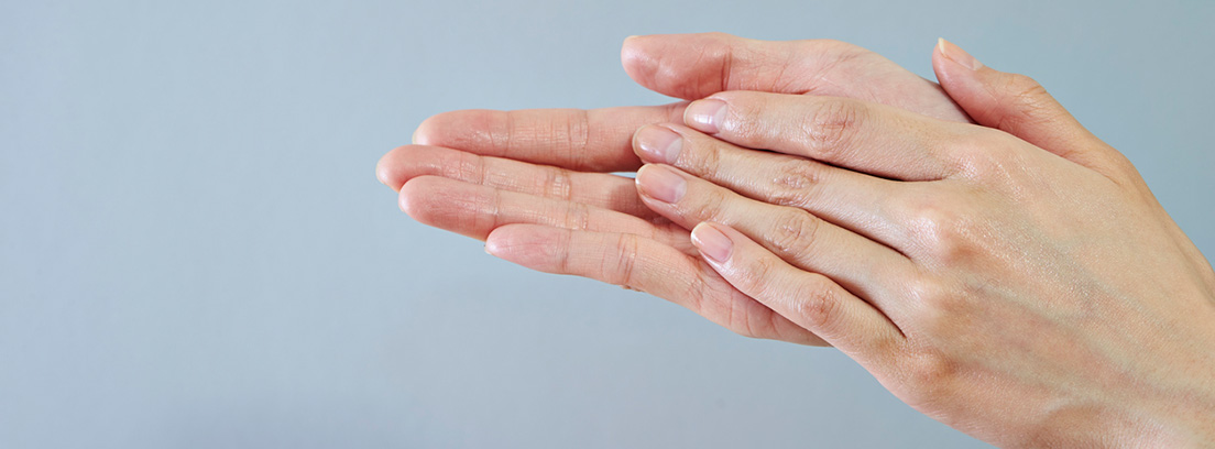 frotarse las manos