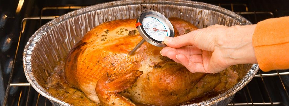 pollo asado a baja temperatura