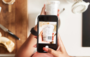 uso de app de alimentos