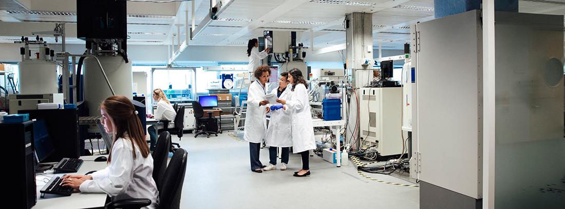 laboratorio de tratamientos oncológicos