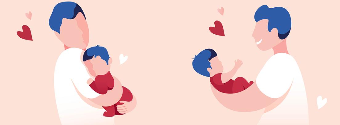 vínculos padre y bebé