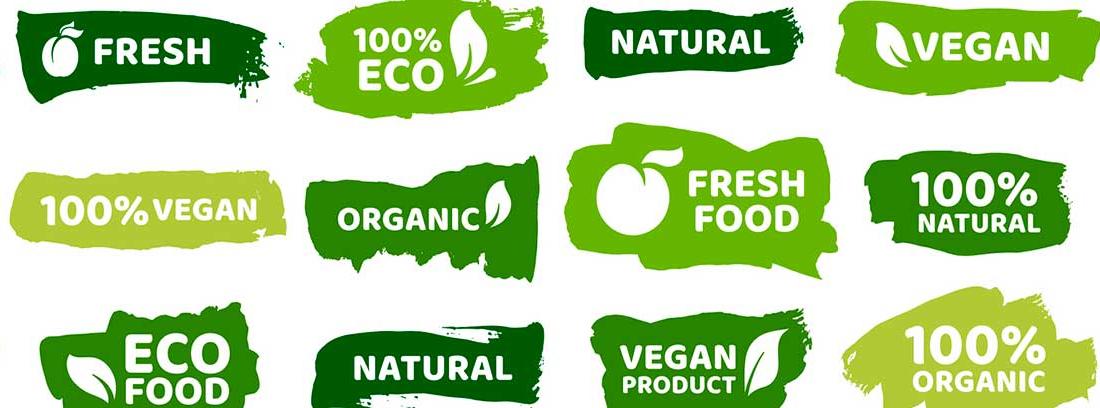 Nuevas tendencias alimentarias: iconos de comida sana