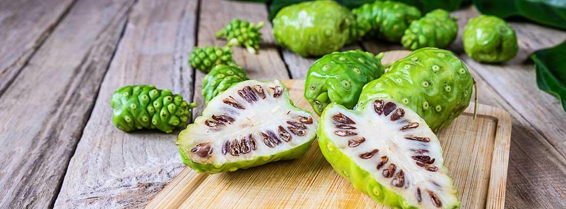 Noni, fruta tropical: propiedades nutricionales