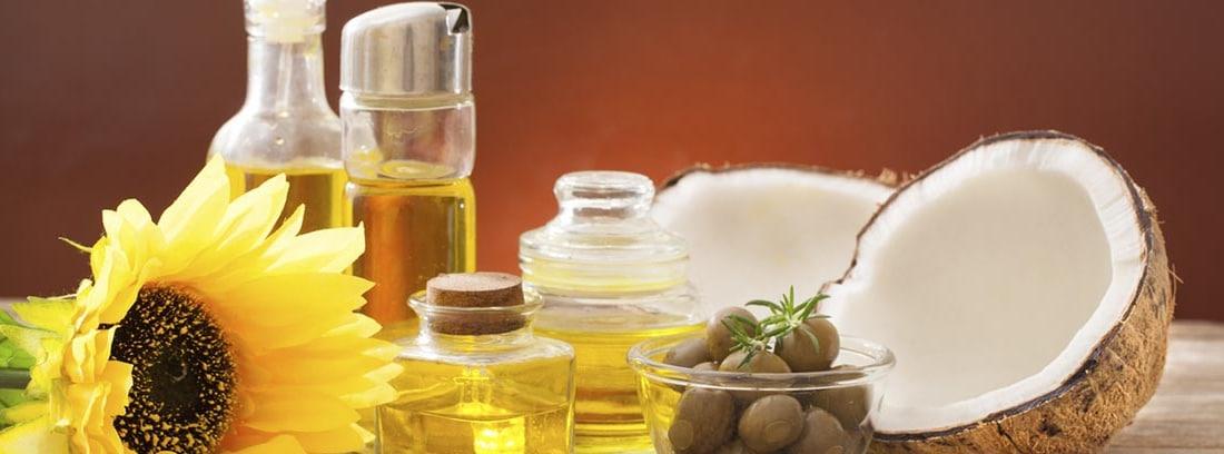 Mejores aceites para cocinar y cuidar nuestra salud: diferentes aceite, oliva, girasol y coco