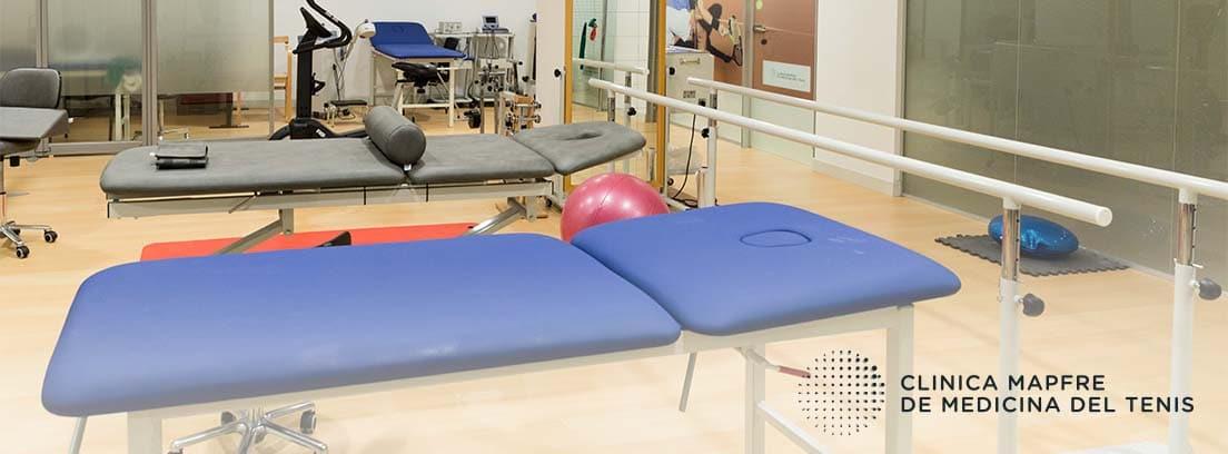 Clínica de Medicina del tenis: instalaciones