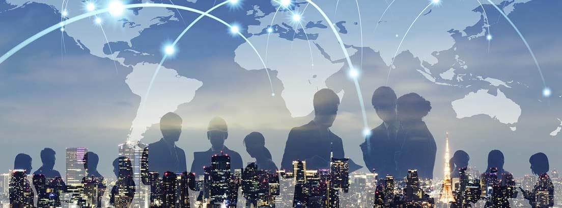 Síndrome del mundo cruel: concepto de comunicación mundial