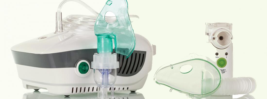 ¿Son aconsejables los nebulizadores?: nebulizador