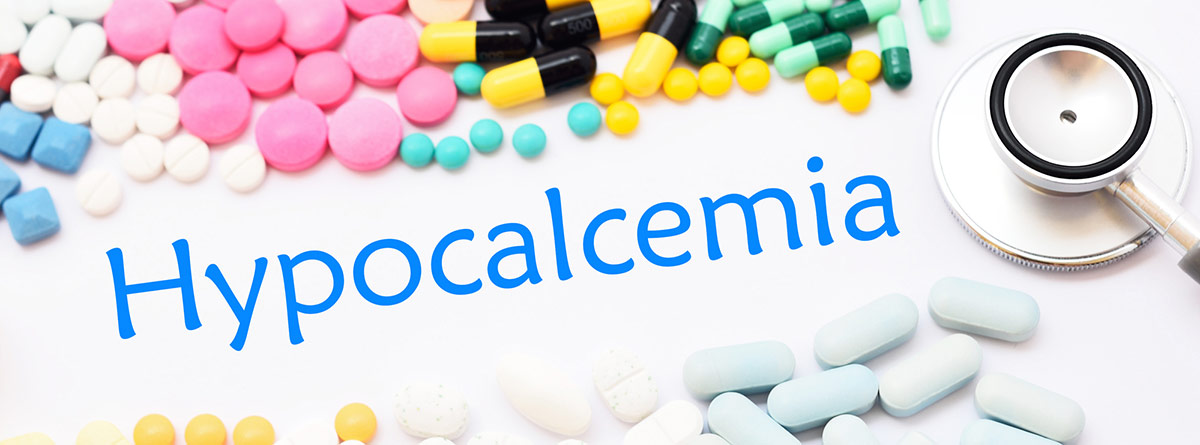 Niveles de calcio en sangre: hipocalcemia