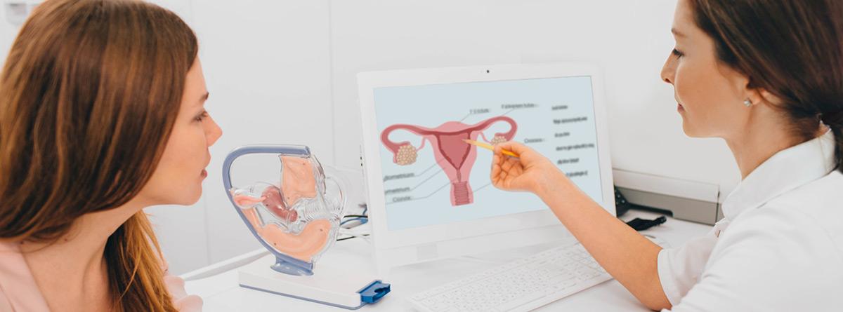 Sangrado de implantación:paciente en consulta de ginecología